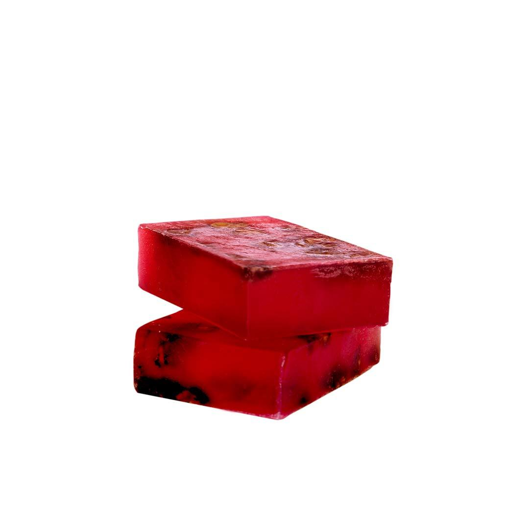 Nuskay Handcrafted Rose Petal Soap Bar -2