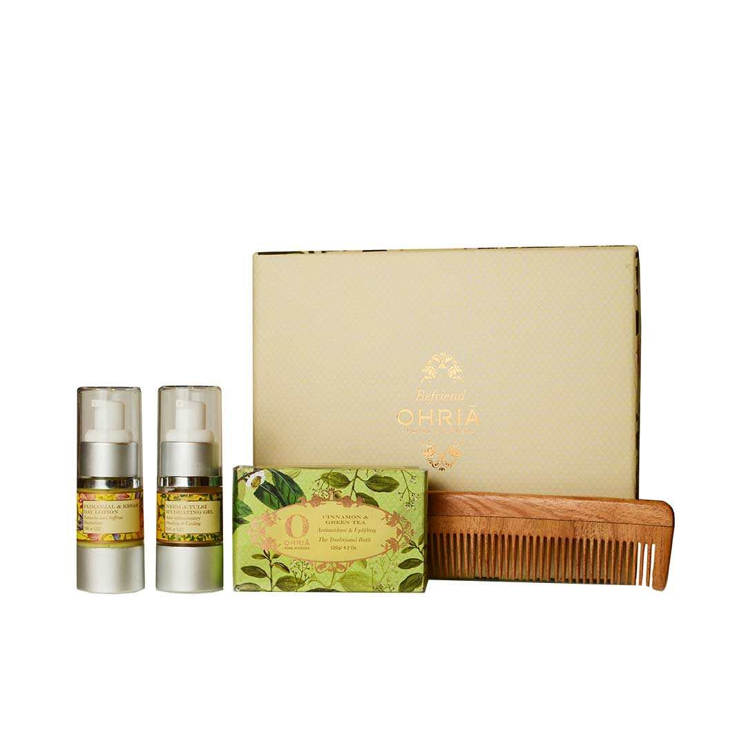 Ohria Ayurveda Wellness Rakhi Gift Set for Brother