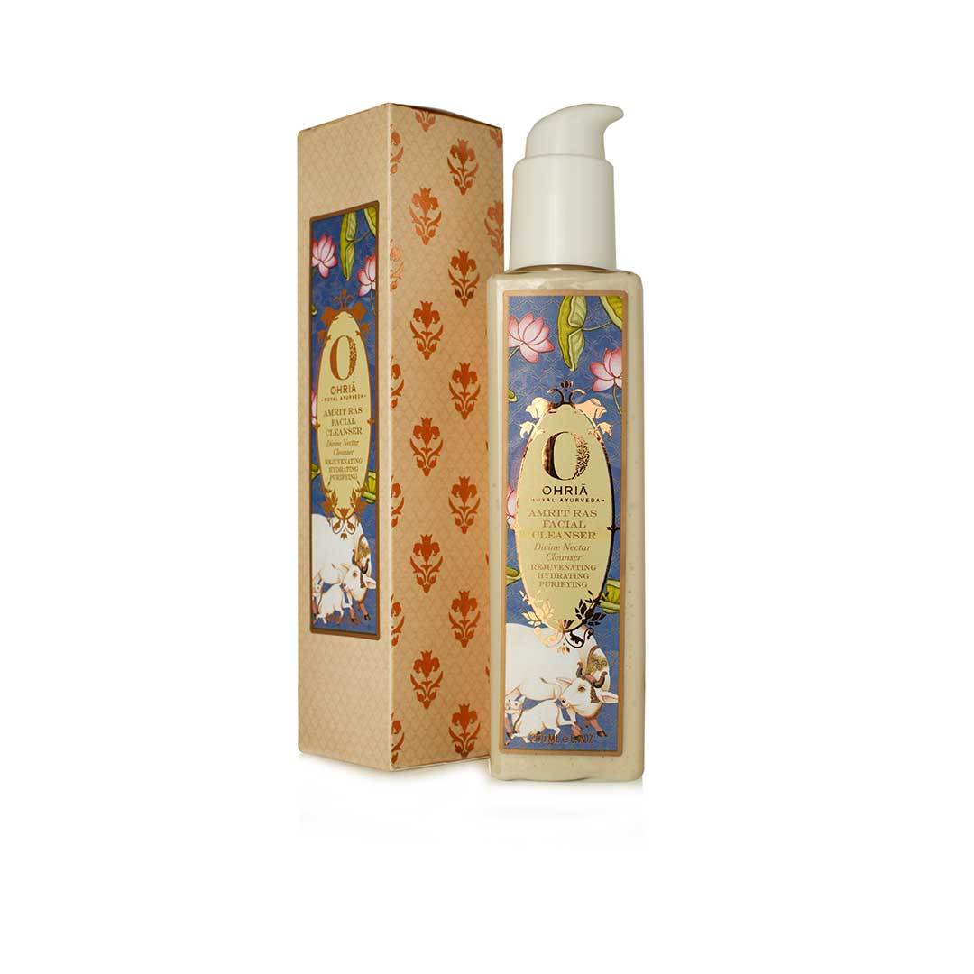 Ohria Ayurveda Amrit Ras Facial Cleanser, Divine Nectar Cleanser -2