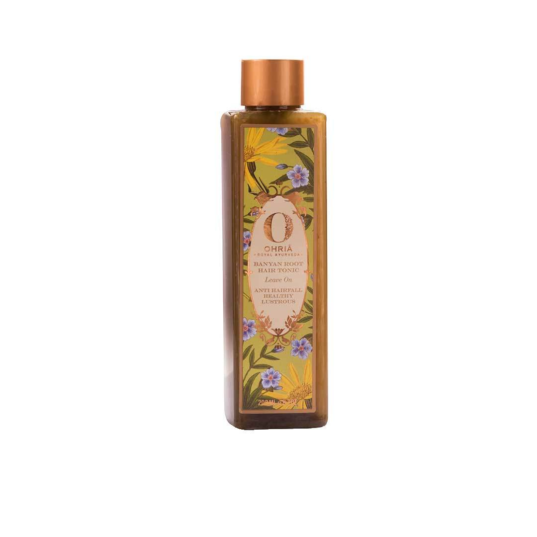 Ohria Ayurveda Banyan Root, Leave On Hair Tonic for Anti Hair Fall, Healthy and Lustrous Hair -2