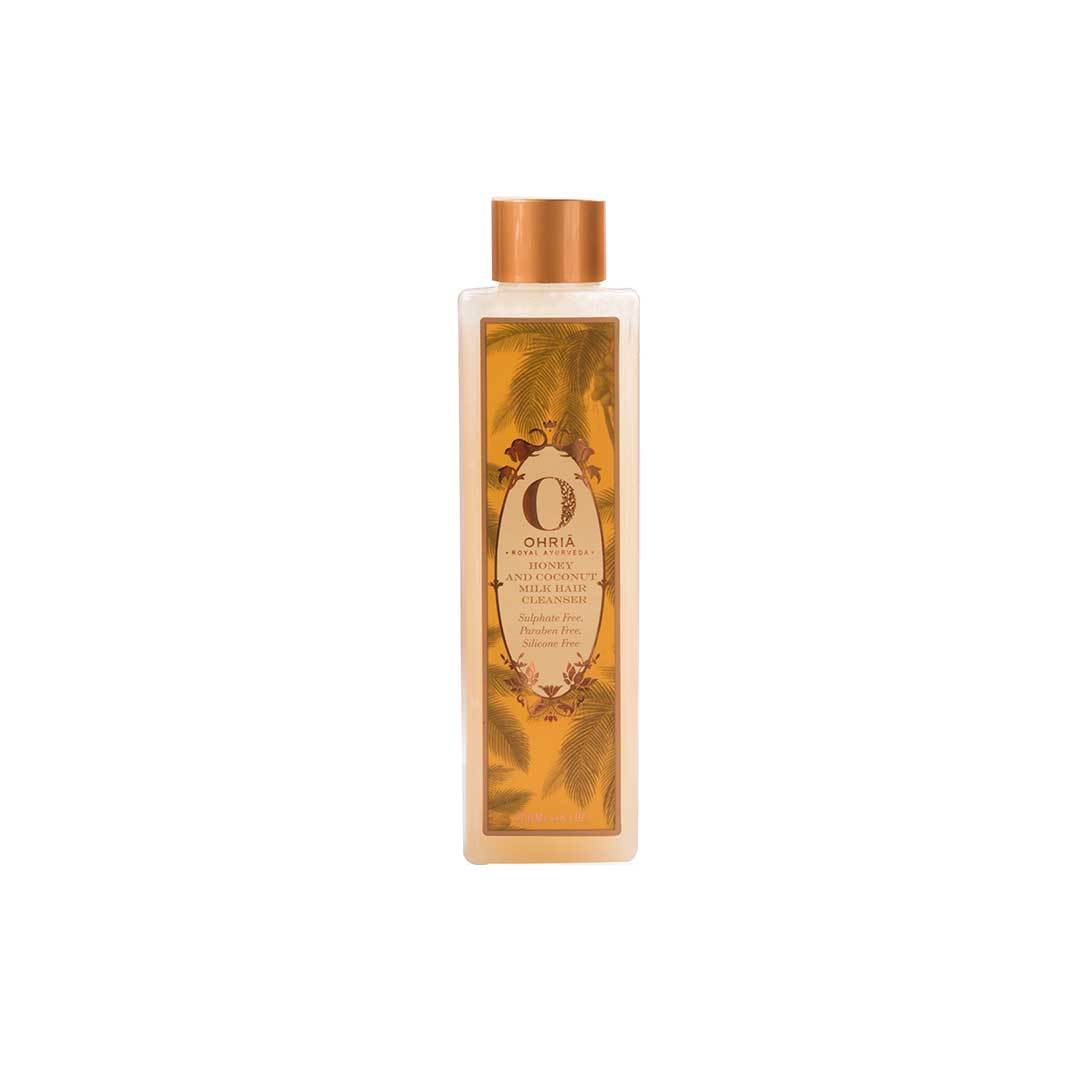 Ohria Ayurveda Honey and Coconut Milk Hair Cleanser -1
