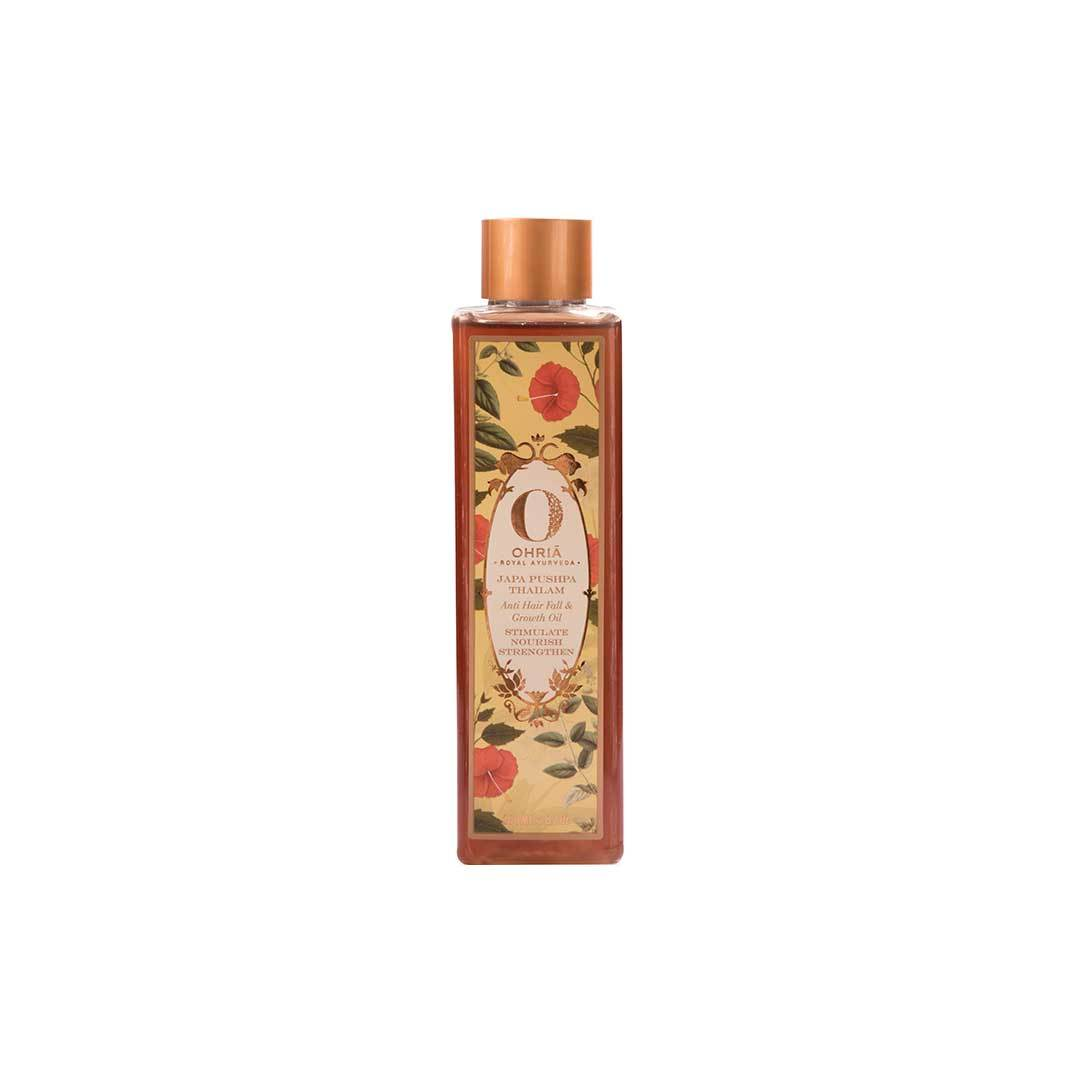 Ohria Ayurveda Japa Pushpa Thailam, Anti Hair Fall and Growth Oil -1