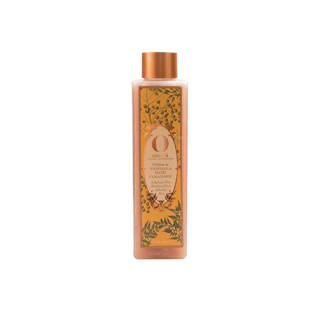 Ohria Ayurveda Neem and Triphala Hair Cleanser -1