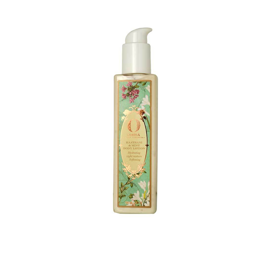 Ohria Ayurveda Raatrani and Mint Body Lotion -1