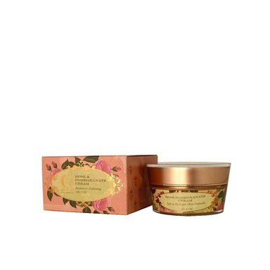 Ohria Ayurveda Rose and Pomegranate Cream, Soft and Radiant Skin Formula -2