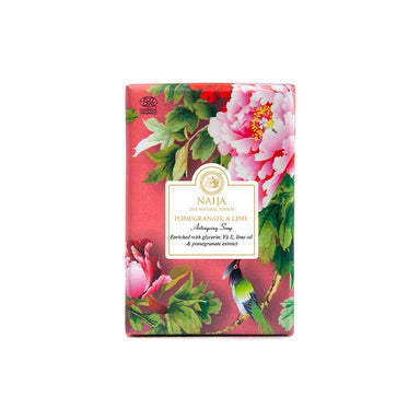 Vanity Wagon | Buy Naija Organic Pomegranate & Lime Anti Ageing Soap