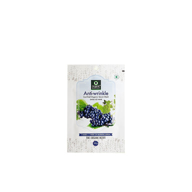 Organic Harvest Anti-Wrinkle Face Sheet Mask with Swiss Ice Wine