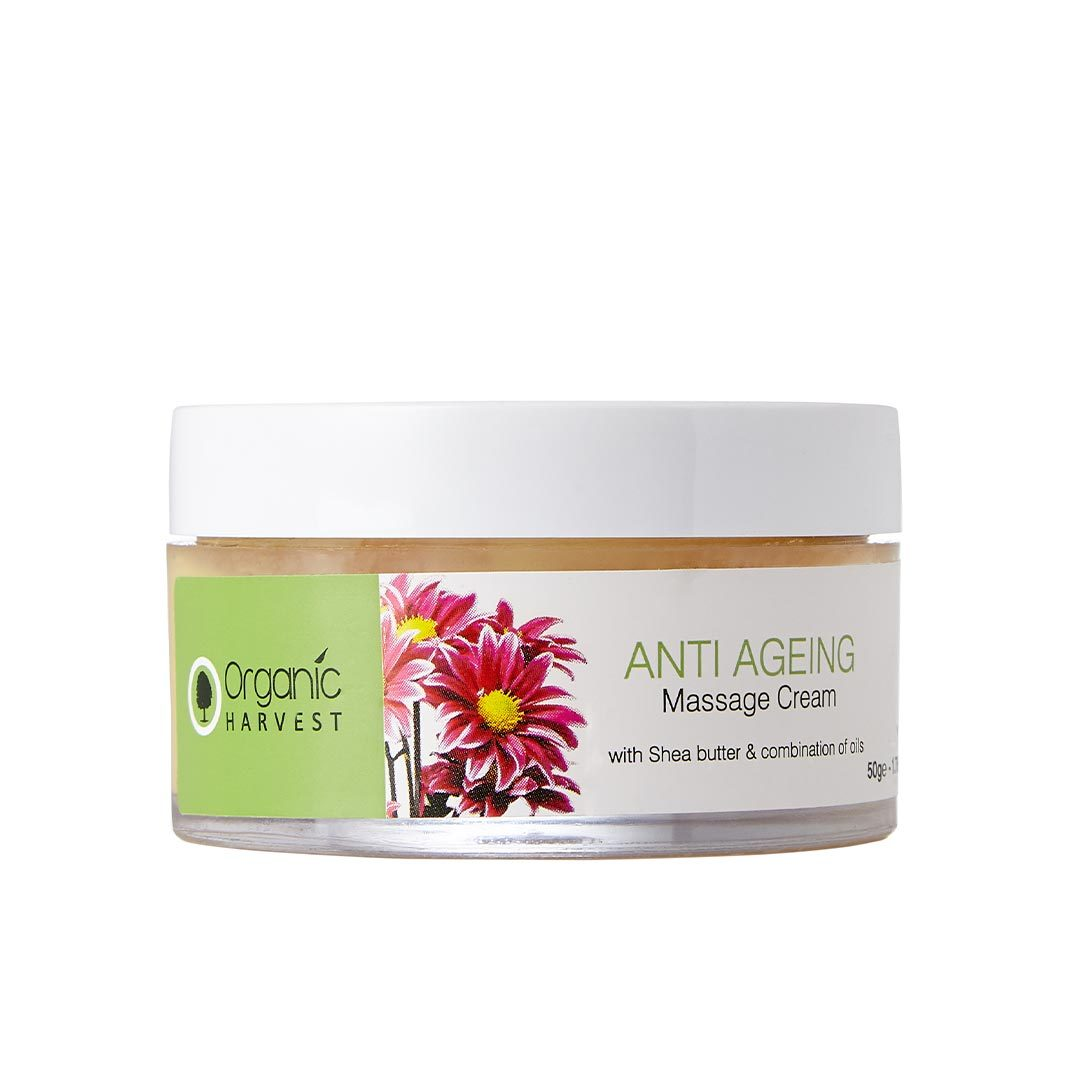 Organic Harvest Anti Ageing Masaage Cream with Shea Butter