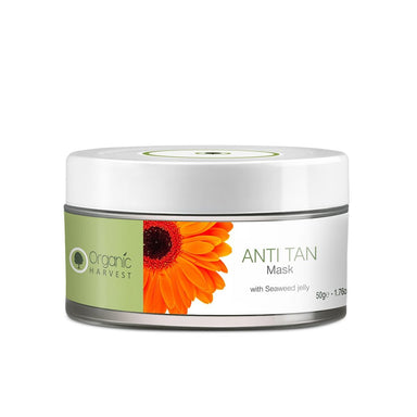 Organic Harvest Anti Tan Face Mask with Seaweed Jelly