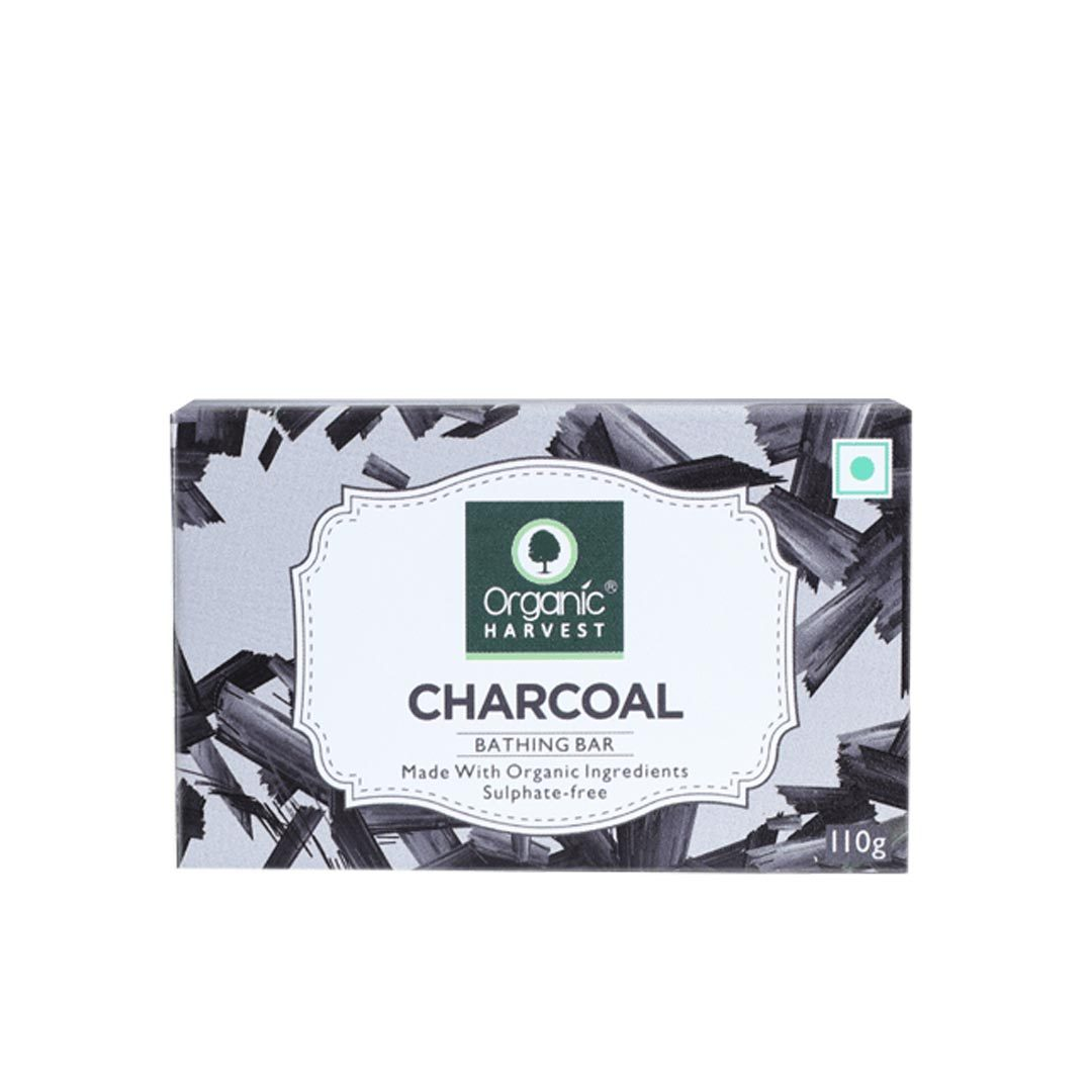 Organic Harvest Charcoal Bathing Soap Bar
