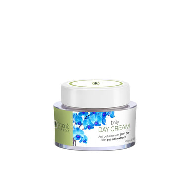Organic Harvest Daily Day Cream for Anti Pollution SPF 30 with Sea Salt Extract 15gm