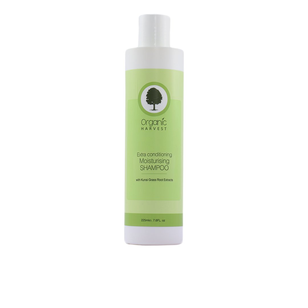 Organic Harvest Extra Conditioning Moisturizing Shampoo with Kunai Grass Root Extracts