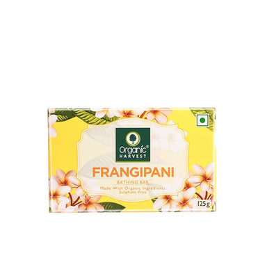 Organic Harvest Frangipani Bathing Soap Bar