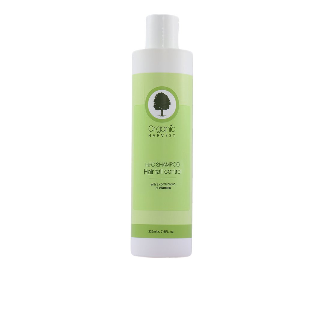 Organic Harvest HFC Shampoo for Hair Fall Control with Combination of Vitamins