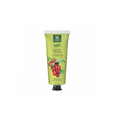 Organic Harvest Hand Cream, Cranberry, Nourish & Purify with Cupuacu Butter