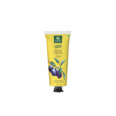 Organic Harvest Hand Cream, Plum, Nourish & Purify with Cupuacu Butter