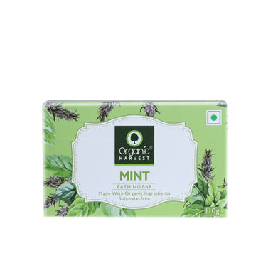 Organic Harvest Mint Bathing Bar Soap