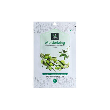 Organic Harvest Moisturizing Face Sheet Mask with Olives