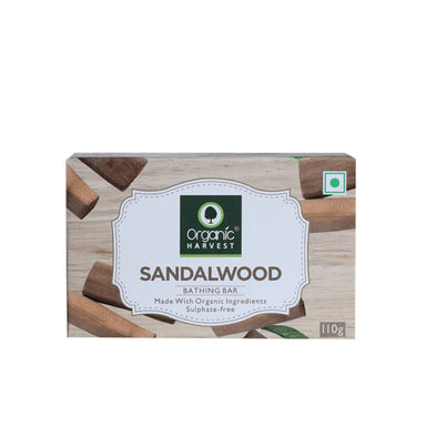 Organic Harvest Sandalwood Bathing Bar Soap