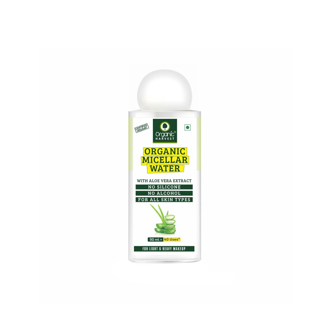 Organic Harvest Micellar Water With Aloe Vera Extract