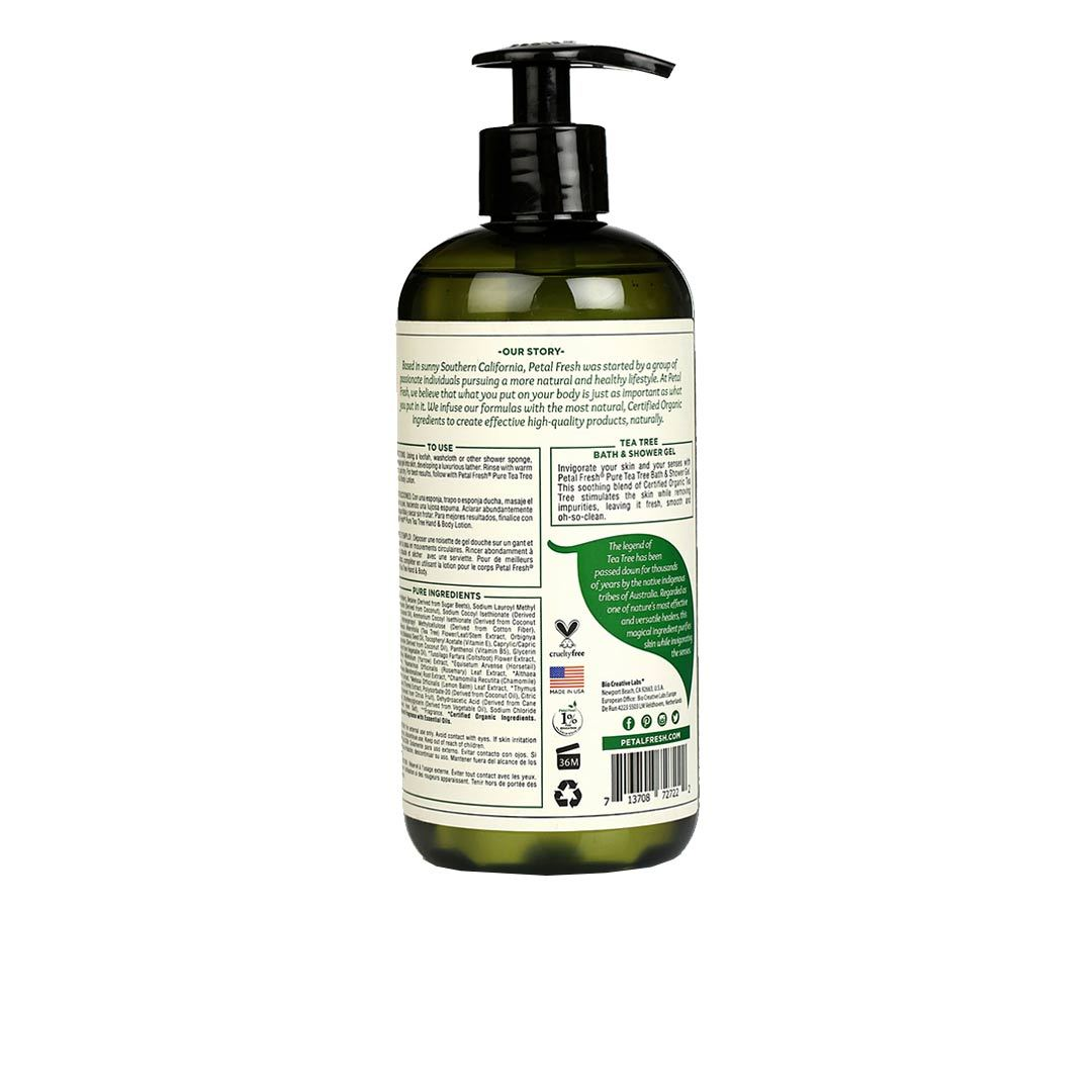 Vanity Wagon | Buy Petal Fresh Puriying Tea Tree Bath and Shower Gel