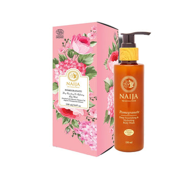 Vanity Wagon | Buy Naija Organic Pomegranate Deep Nourishing & Hydrating Body Wash
