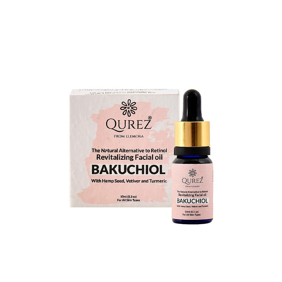 Vanity Wagon | Buy Qurez Bakuchiol, Revitalizing Facial Oil with Hemp Seed, Vetiver and Turmeric