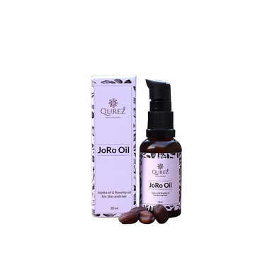 Vanity Wagon | Buy Qurez JoRo Oil with Jojoba & Rosehip Oil for Skin & Hair