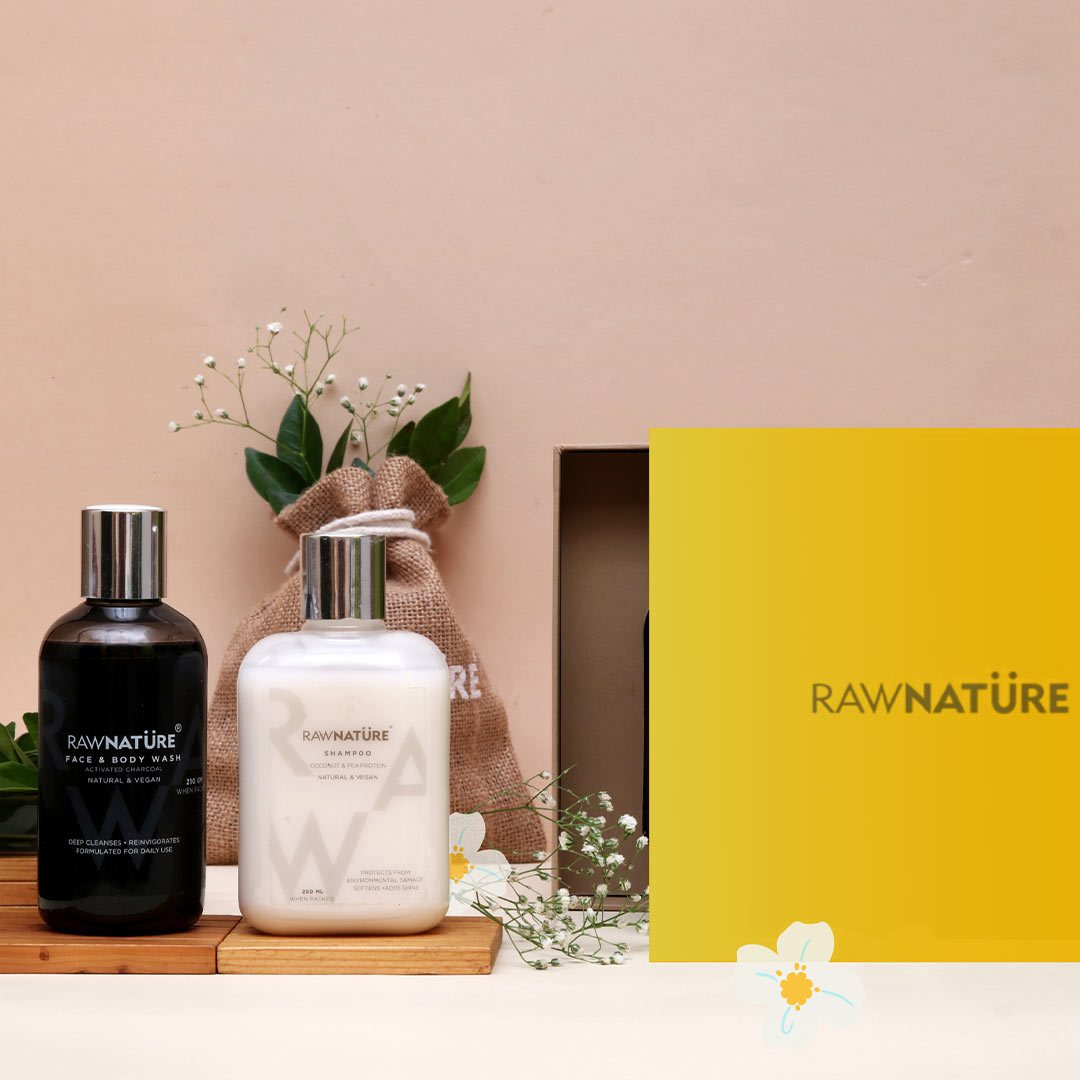 Vanity Wagon | Buy Raw NatureRepair & Nourish Bath Gift Set
