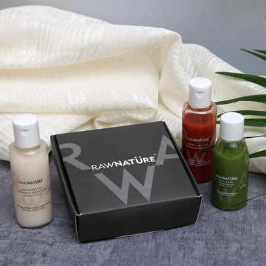 Vanity Wagon | Buy Raw NatureTrial Kit, Bath Essentials