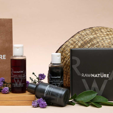 Vanity Wagon | Buy Raw NatureTrial Kit, Daily Essentials For Him
