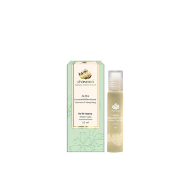Vanity Wagon | Buy Shankara Aura, Essential Oil Deodorant with Geranium and Ylang Ylang