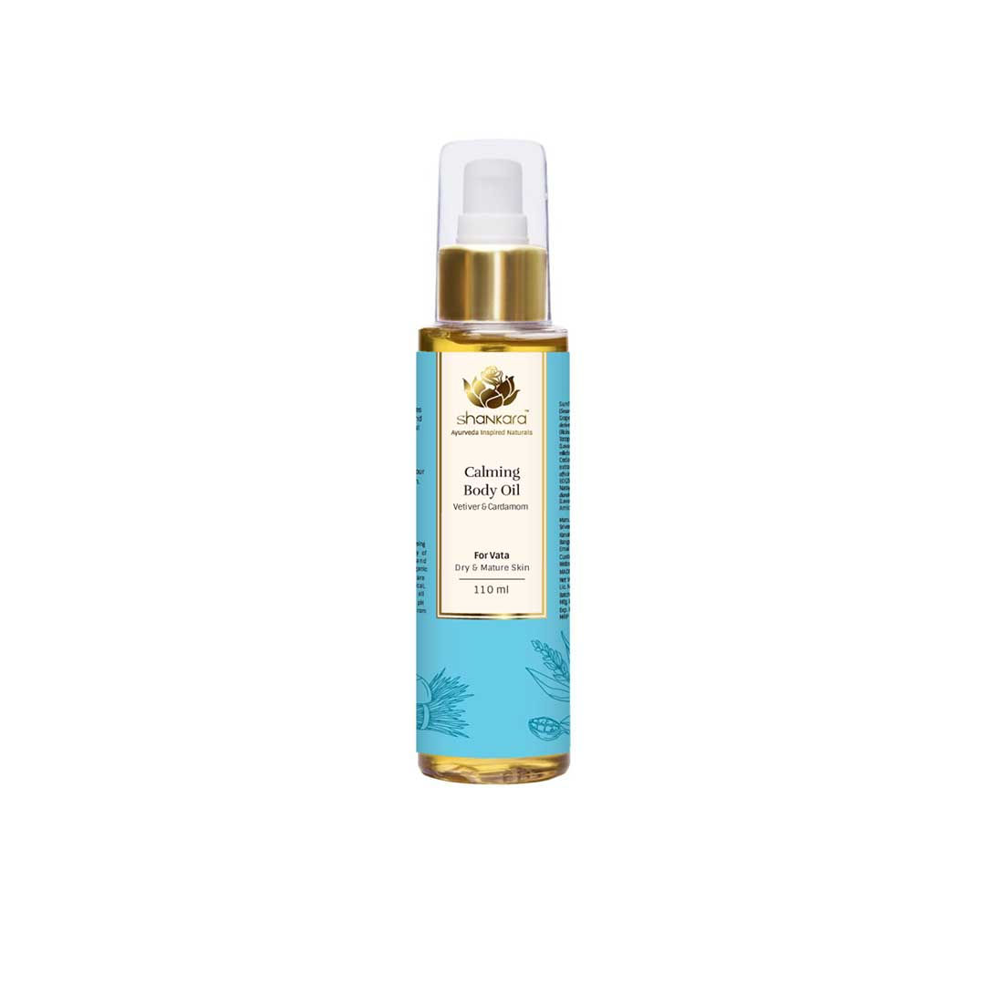 Vanity Wagon | Buy Shankara Calming Body Oil with Vetiver and Cardamon