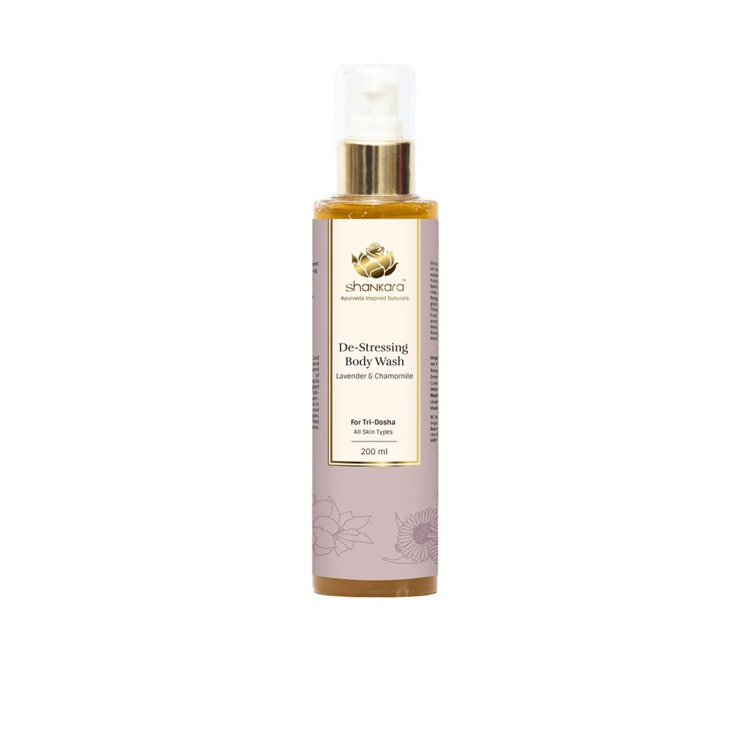 Vanity Wagon | Buy Shankara De-Stressing Body Wash with Lavender and Chamomile
