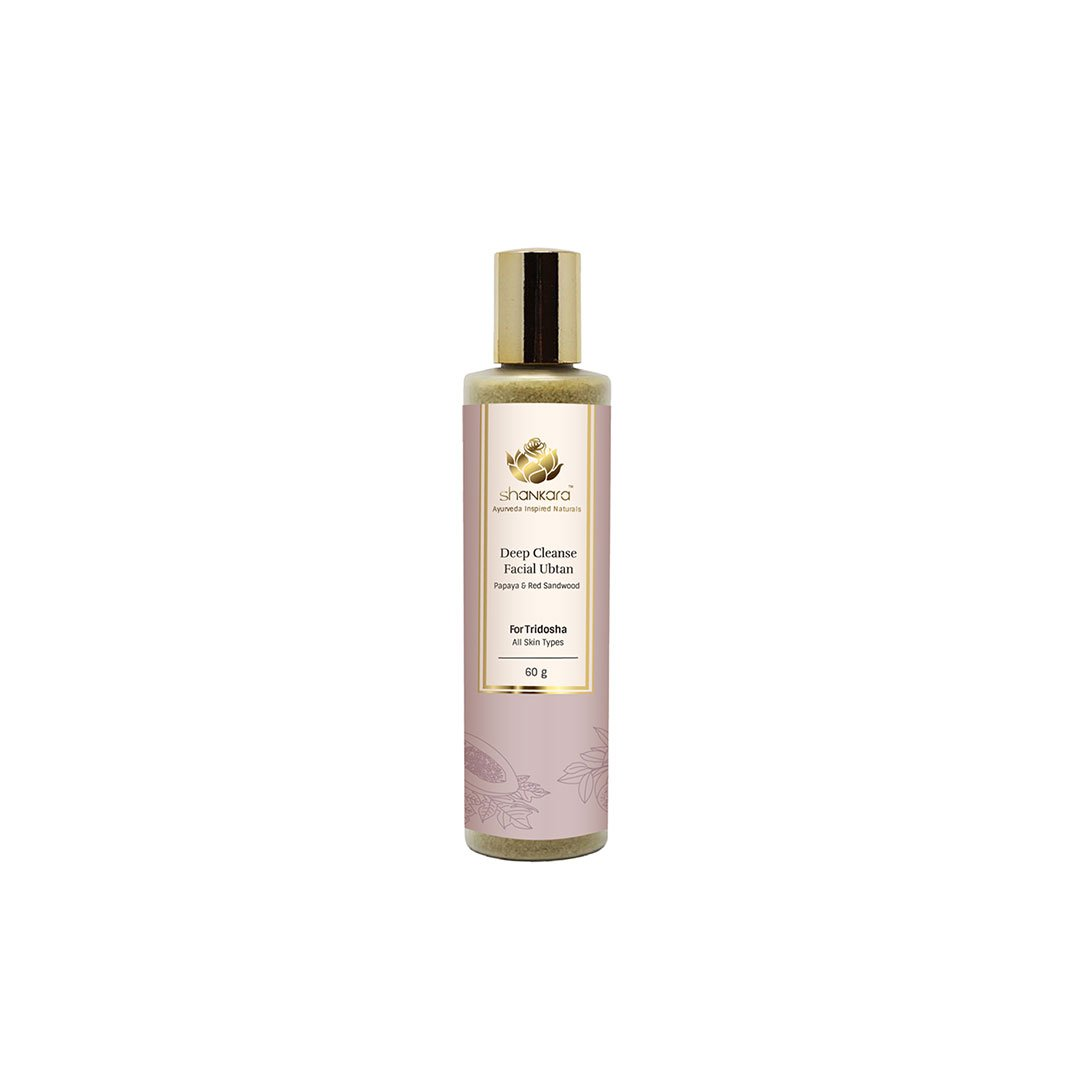 Vanity Wagon | Buy Shankara Deep Cleanse Facial Ubtan with Papaya and Red Sandalwood