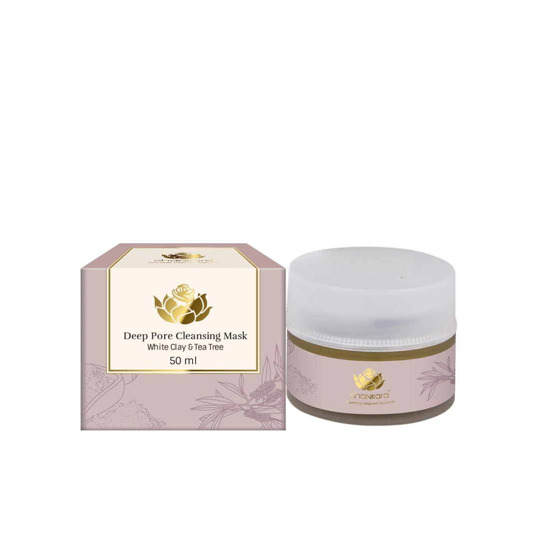 Vanity Wagon | Buy Shankara Deep Pore Cleansing Mask with White Clay and Tea Tree