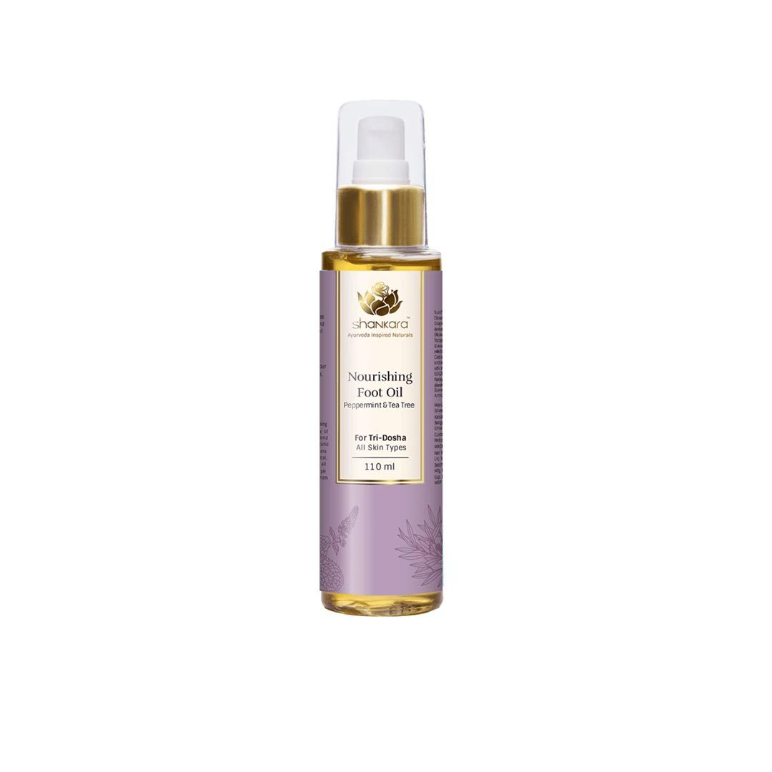 Vanity Wagon | Buy Shankara Nourishing Foot Oil with Peppermint and Tea Tree