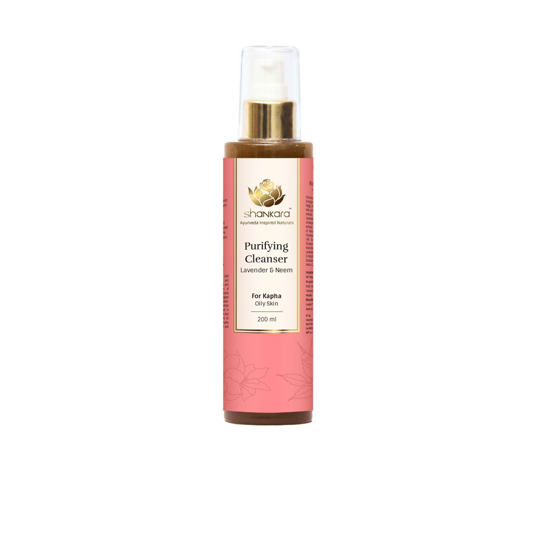 Vanity Wagon | Buy Shankara Purifying Cleanser with Lavender and Neem for Oily Skin