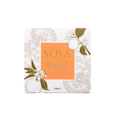 Sova Bergamot and Orange Bathing Bar