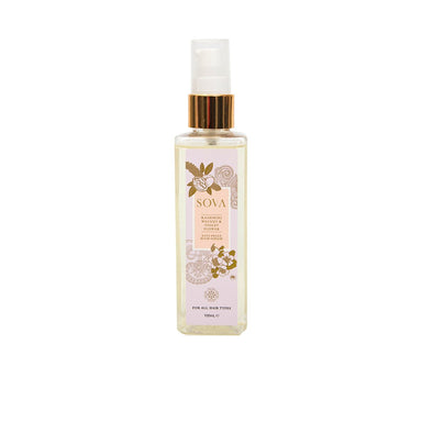 Sova Kashmiri Walnut and Violet Flower, Anti Frizz Hair Serum