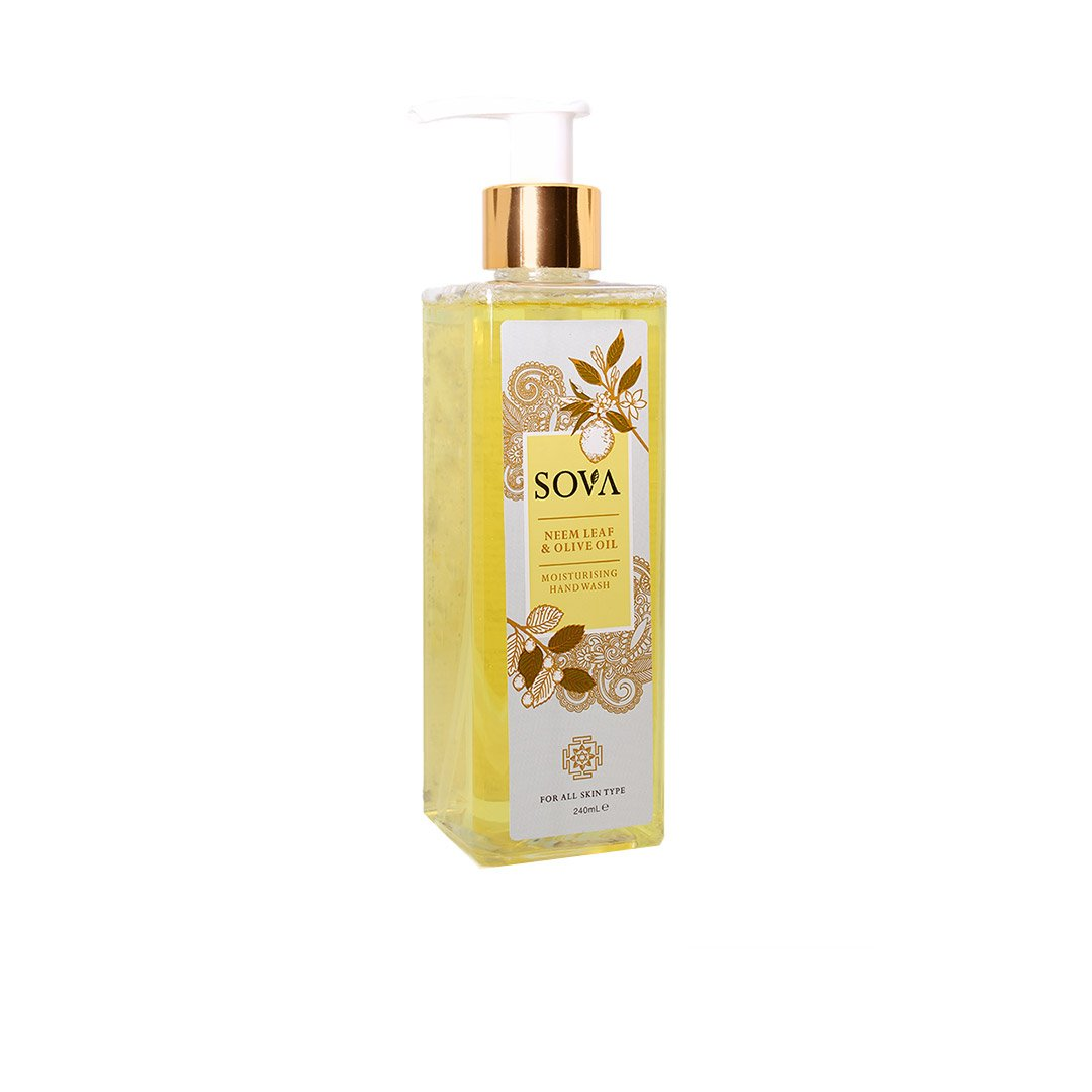 Sova Neem Leaf and Olive Oil, Moisturising Hand Wash