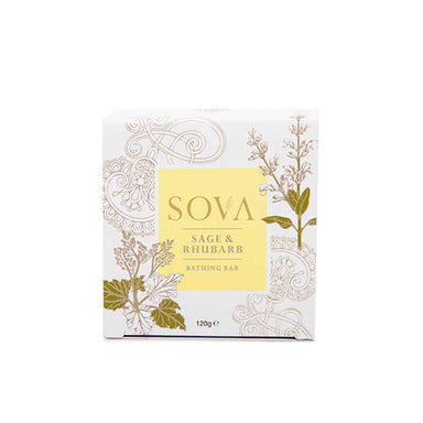 Sova Sage and Rhubarb Bathing Bar