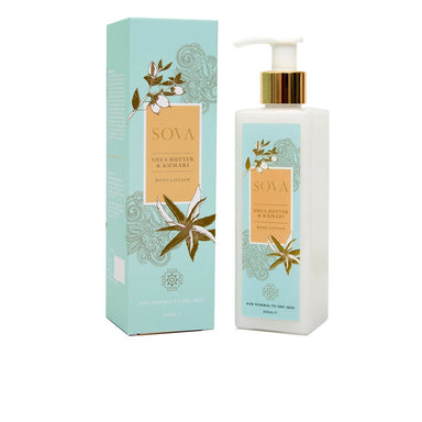 Sova Shea Butter and Kumari Body Lotion