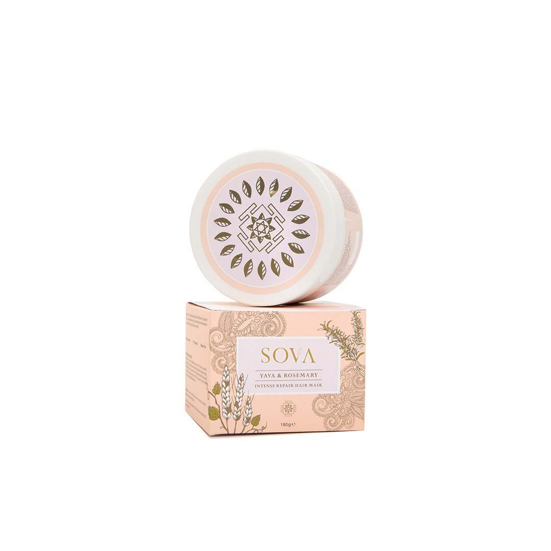 Sova Yava and Rosemary Intense Repair Hair Mask
