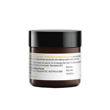 Vanity Wagon | Shop Swisse Hyaluro-Natural Intensive Hydrating Mask with Natural Botanical