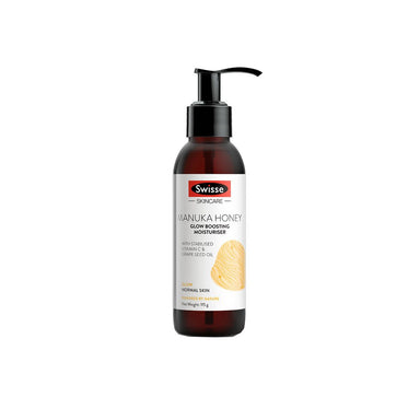 Vanity Wagon | Shop Swisse Manuka Honey Glow Boosting Moisturiser with Vitamin C & Grape Seed Oil