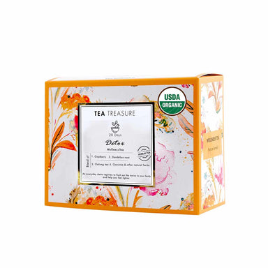 Vanity Wagon | Buy TeaTreasure 28 Days Detox, Herbal Tea