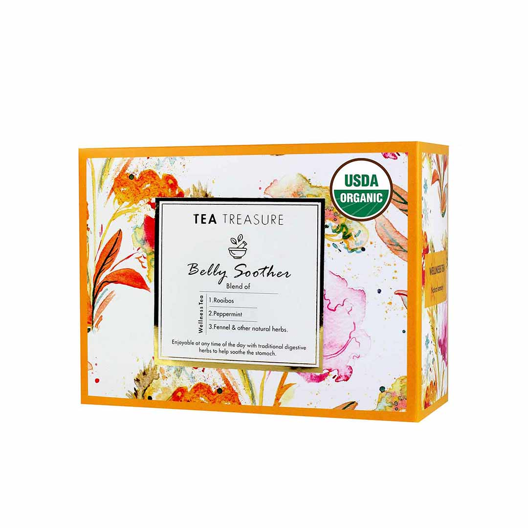Vanity Wagon | Buy TeaTreasure Belly Soother, Wellness Tea