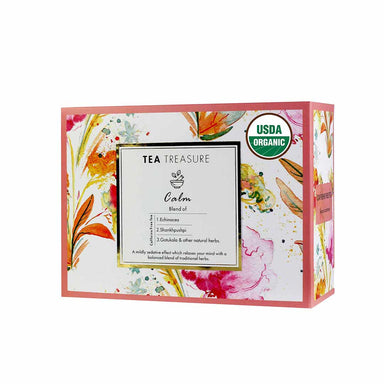 Vanity Wagon | Buy TeaTreasure Calm, Caffeine-Free Herbal Tea