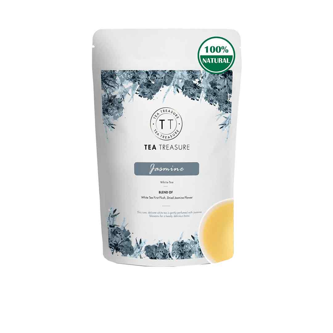 Vanity Wagon | Buy TeaTreasure Jasmine, Antioxidants Rich White Tea